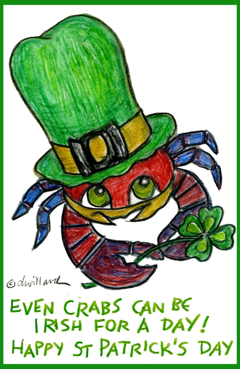 Even Crabs Can Be Irish for a Day
